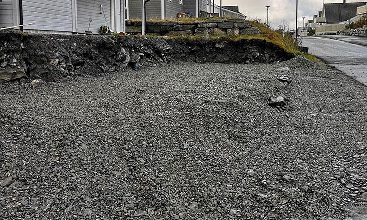 Grunnarbeid fra Kallestad Maskin og Fjellsplitting